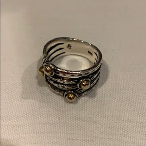 Grace and Heart ring
